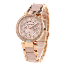 NEW MICHAEL KORS MK6110 ROSE GOLD MINI PARKER WOMENS WATCH UK SELLER