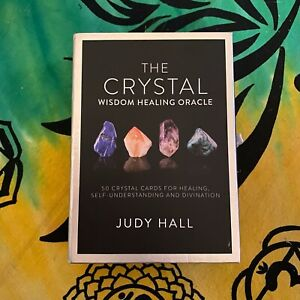 The Crystal Wisdom Healing Oracle by Judy Hall - 50 Crystal Cards and Guidebook