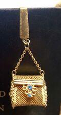Vintage Estate Gold Metal Mesh Miniature Purse