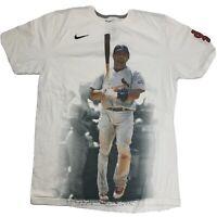 St Louis Cardinals Albert Pujols Nike Men's T-Shirt Size L Baseball