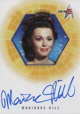 Star Trek 35th Anniversary Holofex Autograph Card A33 Marianne Hill