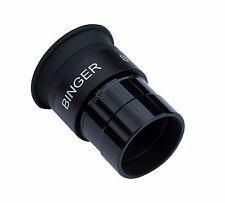 Binger Super wide angle 70 degrees 10mm eyepiece fully broadband multi-coated