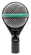 AKG D112 MKII Professional Dynamic Kick Drum Bass Guitar Microphone Mic