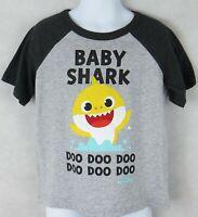 Baby Shark Toddler Boys T-Shirt Officially Licensed Gray Jumping Beans