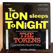 The Lion Sleeps Tonight The Tokens 1961 Vinyl RCA Records 1st Press VG+