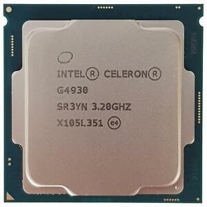 Genuine Intel Celeron G4930 3.2GHz Dual Core 2MB LGA1151 CPU Processor SR3YN