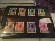 timbre belgique x princess josepine charlotte n458/65  (lot71)