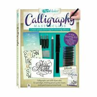 Art Maker Calligraphy Masterclass Kit Birthday Party Gift Item Toy Brand New AUS