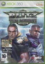 Xbox 360 **BLITZ THE LEAGUE** Nuovo Sigillato Pal