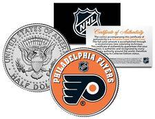 PHILADELPHIA FLYERS NHL Hockey JFK Half Dollar U.S. Coin - OFFICIALLY LICENSED