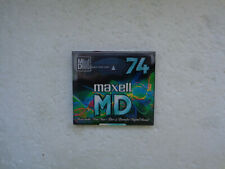 Minidisc MAXELL MD 74 - Recordable MD Neuf