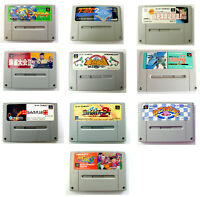 Lot 10x jeux / games for Super Famicom Nintendo (Japanese SNES) NTSC / J