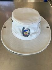 Tilley Endurables T3 Cream canvas hat - Large chin strap -Made in Canada - 7 3/8