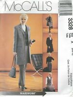 McCall's 3328 Misses' Jacket, Vest, Pants and Skirt  Sewing Pattern