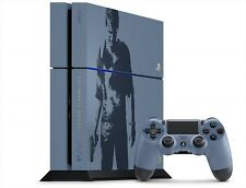 PlayStation 4 PS4 Uncharted Limited Edition Console set Gray Blue Dualshock4 NEW