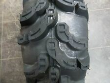 TWO 25/11.00-10, 25/11.00-10 ATV Mud Cat 6 Ply Tubeless Four Wheeler Tires