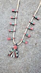 Santo Domingo Depression Era Thunderbird Necklace