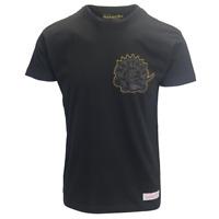 Mitchell & Ness Men's Black & Gold Toronto Raptors S/S Crewneck T-Shirt
