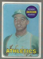 1969 Topps #260 Reggie Jackson RC NICE CARD