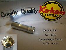 """Koken`s Z-serie 3/8"""" Zündkerzen-Schlüssel mit Haltefeder für ZK.16mm"""
