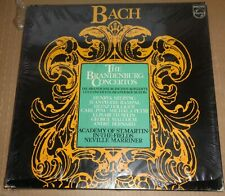 Marriner/Szeryng/Rampal BACH Brandenburg Concertos - Philips R215127 SEALED
