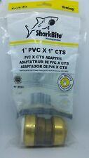 "SharkBite UIP4020 1"" PVC x 1"" CTS Adaptor"