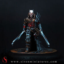 Virgil - Fantasy demon miniature in 32 mm scale for tabletop and board games