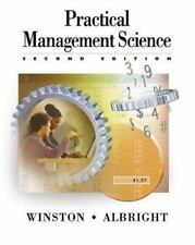 Practical Management Science: Spreadsheet Modeling and Applications-ExLibrary