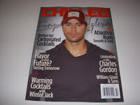CHILLED Magazine, Vol. 7, #1, 2014, ENRIQUE IGLESIAS Cover, Spicy Beers!