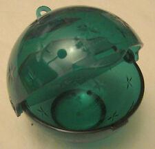 Tupperware Kugel Weihnachten klein grün Baumschmuck Geschenkdose  Neu OVP