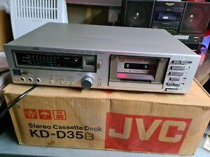 JVCKD-D35 STEREO CASSETTE DECK SOLD FOR SPARES