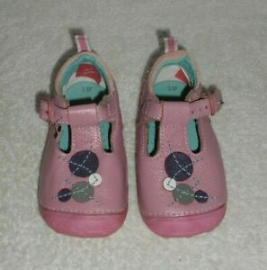 Hush Puppies Baby's Pink Leather Shoes UK 3.5/EU 19.5
