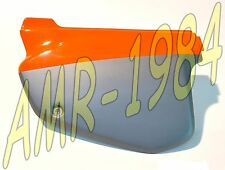 PANEL LATERAL IZQUIERDA NARANJA - GRIGIO APRILIA RX - MX 50 cc 95 - 03 AP8238789