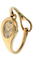 GUCCI Quartz Gold Dial Small Gold-tone Bracelet Women Watch YA103534