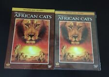 Disney Nature: African Cats (Blu-ray/DVD, 2011, 2-Disc Set) Brand New