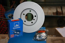 ATE Brake Discs And Ceramic Coverings Skoda And VW Golf IV New Beetle, Polo Rear