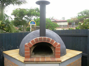 BUILDING YOUR OWN WOOD FIRED PIZZA OVEN ****INSTRUCTIONS ON CD****