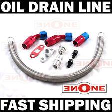 MK1 Turbo Oil Return Drain Line Honda Civic D15 D16 B16