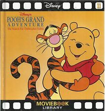 Disney's Pooh's Grand Adventure The Serch for Christopher robin Moviebook new