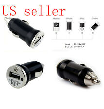 Mini Car Cigarette Lighter to Universal USB Charger iPhone 4 4S 3GS MP3/4 Phones