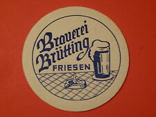 Beer Coaster ~ BRAUEREI BRUTTING = Brütting ~*~ Hirschaid, GERMANY ~ Breweriana!