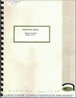 ACCUTRONICS Manual M-10 Master Marker