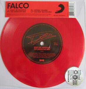 "Falco Rock Me Amadeus red 7"" vinyl ( The American Edit ) Vienna Calling RSD new"