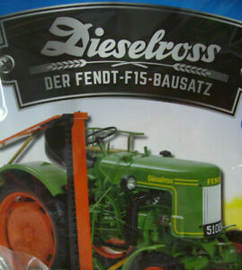 Dieselross Fendt F 15 Bausatz- versch. Ausgaben Nr.  4 - 127 OVP mit Heft