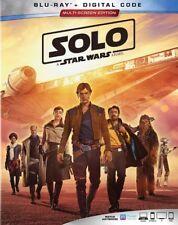 Solo: A Star Wars Story (Blu-ray+Digital Code, 2018) NEW w/ Slipcover