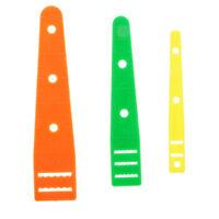 3pcs Plastic Elastic Threaders Wear Elastic Band Tool Sewing Supplies 3 Size