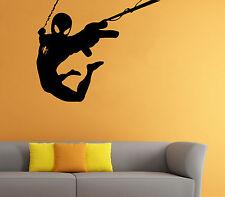 Spider Man Wall Decal Comics Super Hero Vinyl Sticker Home Wall Decor (016sm)