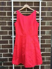 Gorgeous REVIEW Salmon Skater Dress Sz 14 L EUC