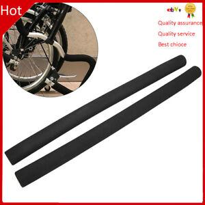 1Pair MTB Bike Sponge Foam Sponge Handlebar Grip Bicycle Handle Bar Grip Cover❤T