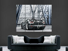 KOENIGSEGG SWEDISH SUPERCAR  WALL POSTER ART PICTURE PRINT LARGE  HUGE